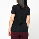 Women's Basic Bamboo T-shirt - Black