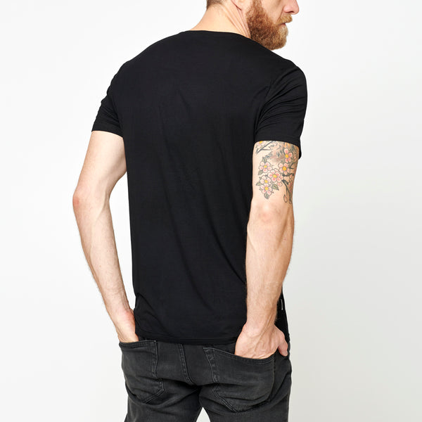 Men's Basic Bamboo T-shirt - Black