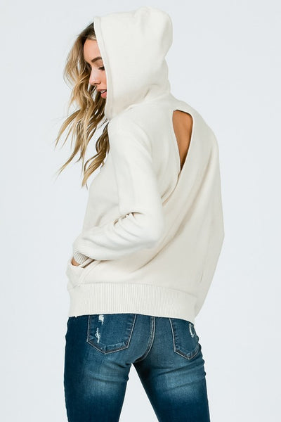 Open Back Sweater.