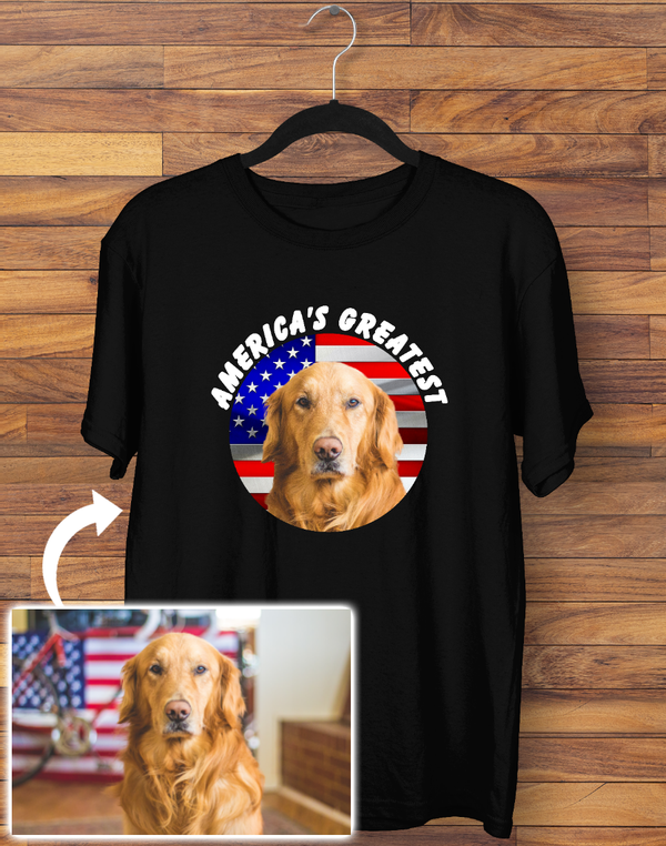 Custom America's Greatest T-shirt