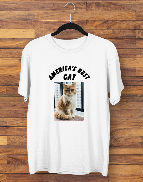 Custom America's Best Cat T-shirt