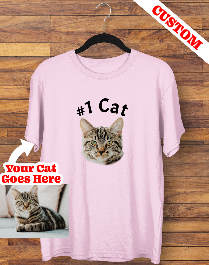 Custom #1 Cat T-shirt
