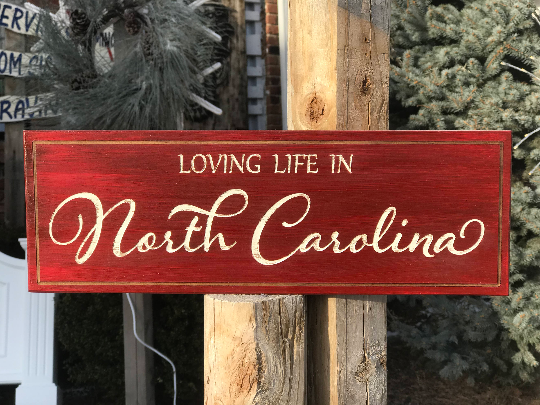 Loving Life In... Wall Plaque Laser Engraved Personalized Custom Sign 165 by All Seasons