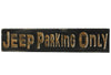 Jeep Parking Only Laser Engraved Personalized Custom Wood Sign 163 by All Seasons