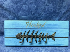 All Seasons Hooked Slatboard Sign with Hooks