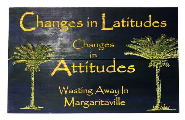 All Seasons Changes in Latitudes Sign