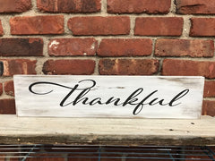 All Seasons Thankful Sign