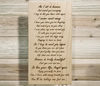 As I Sit In Heaven Inspirational Poem Wall Plaque Laser Engraved Personalized Custom Sign 105 by All Seasons
