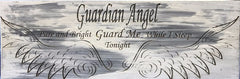 All Seasons Angel Guard Me Sign