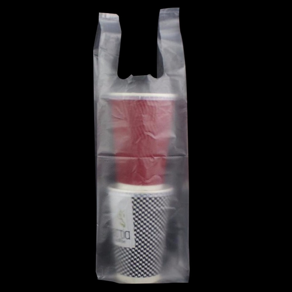 2-Cup Plastic Bag (100 PCS)