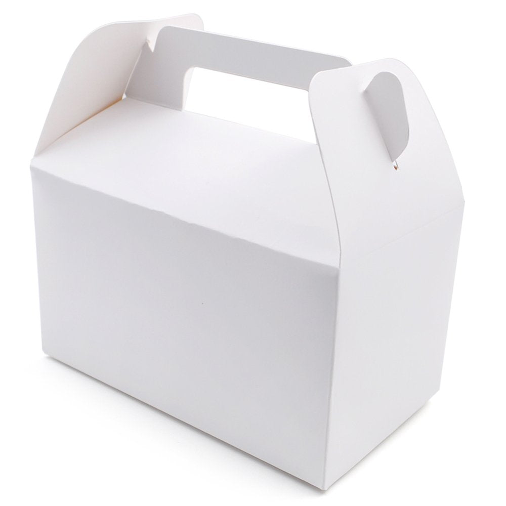 Paper Cake Box with Handle (100PCS/STACK)