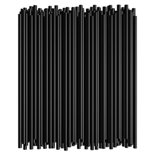 "8"" Black Flexible Straw (250PCS*40PKT)"