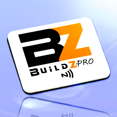 Buildz.pro Smart Badge - White (Pre-Order)