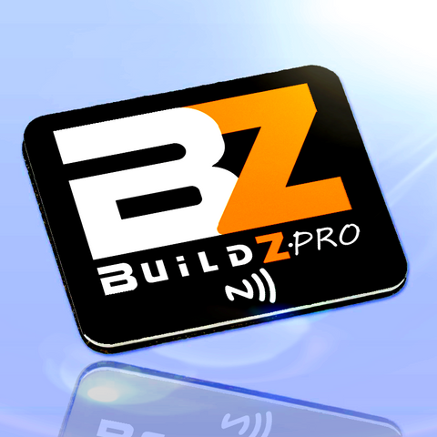 Buildz.pro Smart Badge - Black