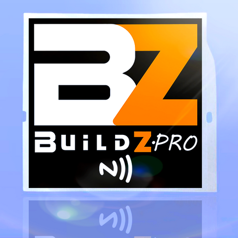 Buildz.pro Smart Sticker - Black
