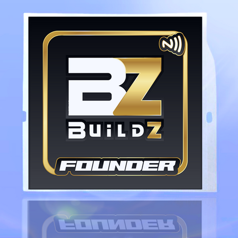 Buildz.pro Window Smart Sticker (Limited Edition)