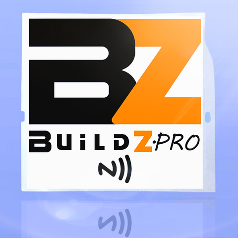 Buildz.pro Smart Sticker - White (Pre-Order)