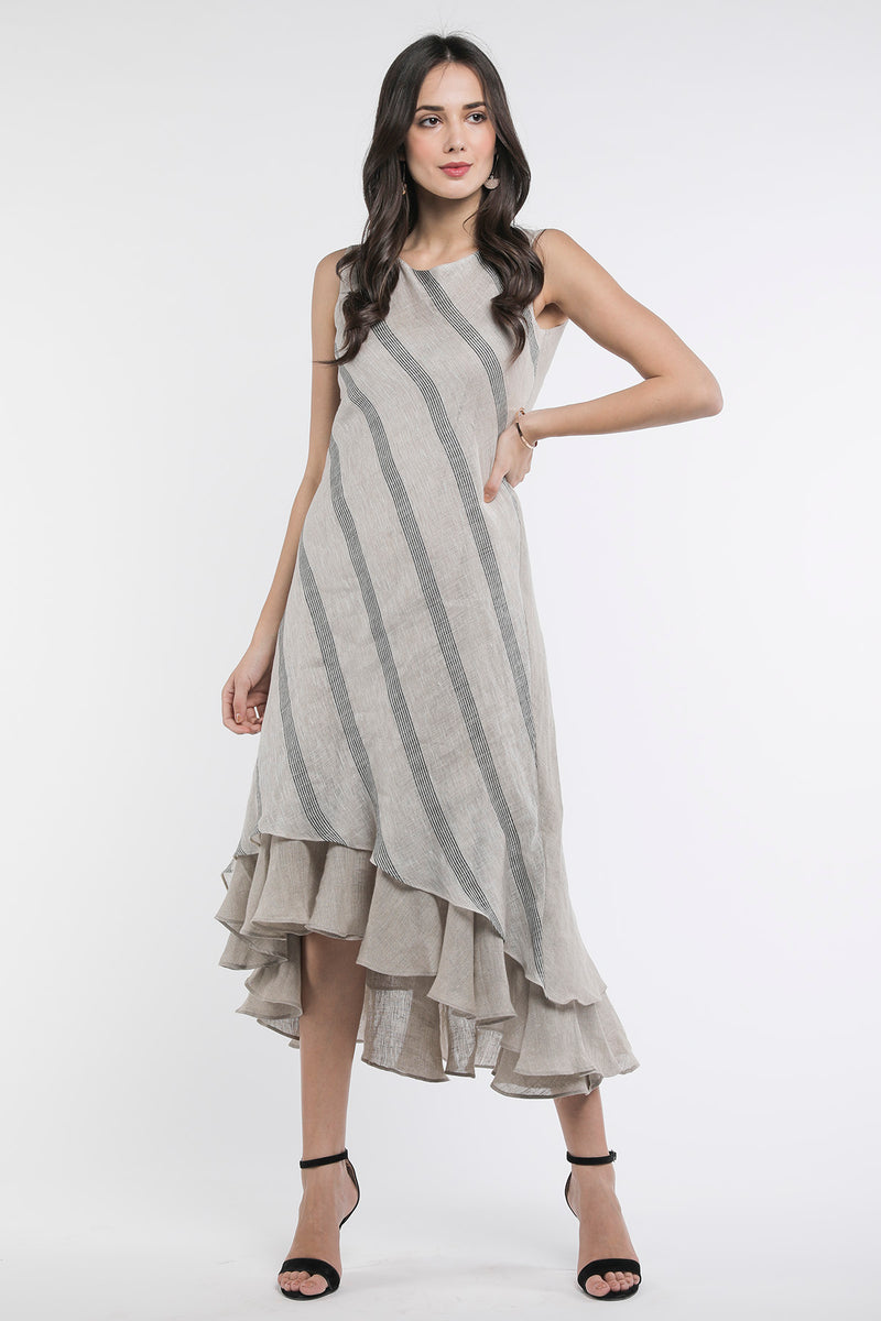 High Low Showstopper Dress-Yellwithus.com