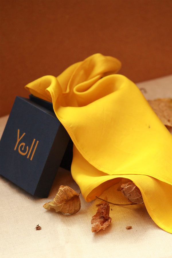 The Yellow Pocket Square