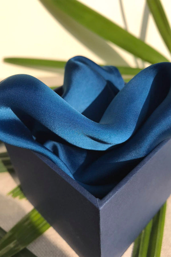 The Royal Blue Pocket Square