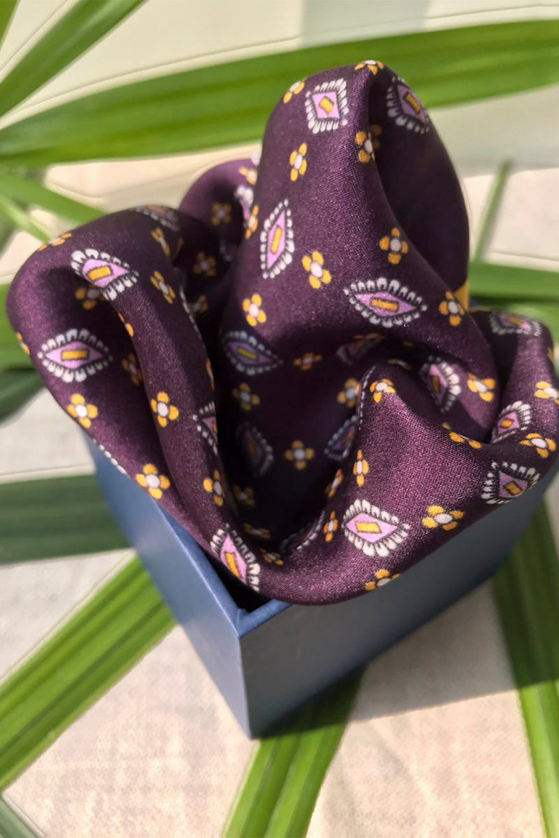 The Capital Pocket Square-Yellwithus.com