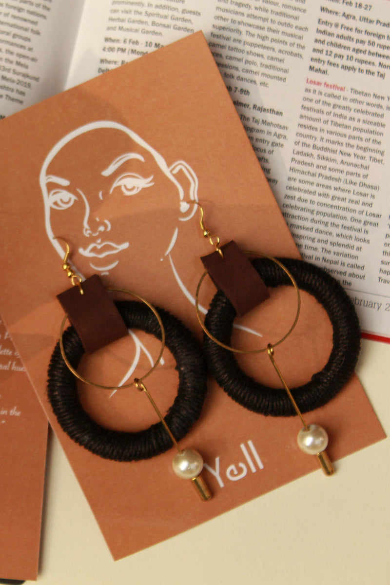 The Amoli Earrings-Yellwithus.com