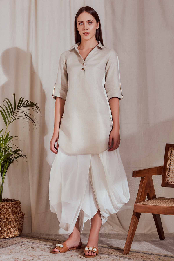 Trendy Twin Kurta-Yellwithus.com