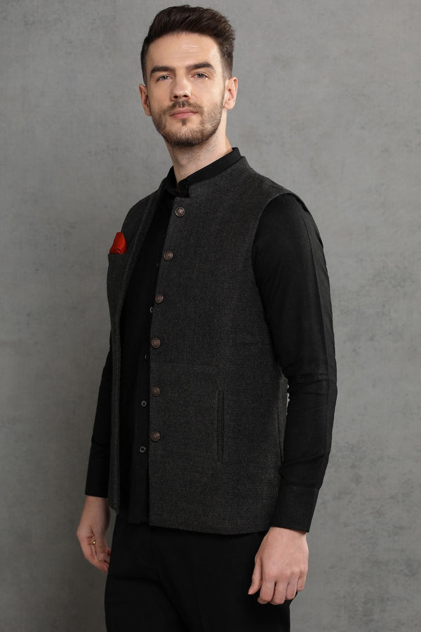 The Serious Business Nehru Jacket-Yellwithus.com