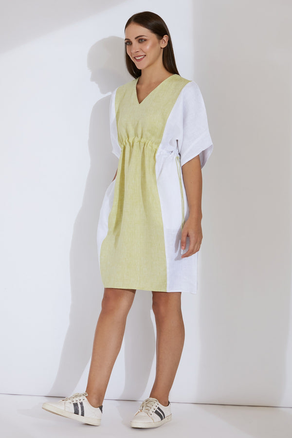 Minty Green Kaftan Dress - Yellwithus.com