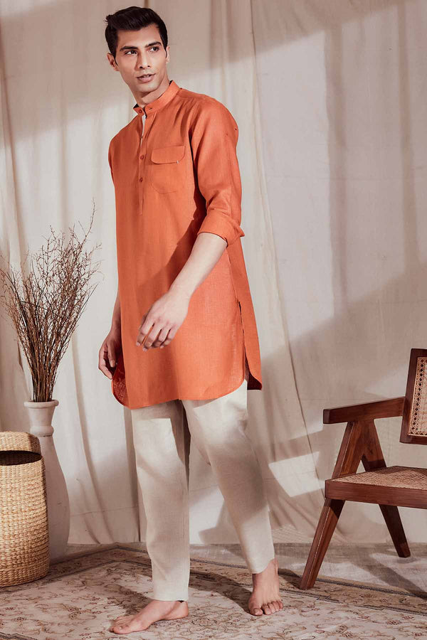 The Zeroun Kurta-Yellwithus.com