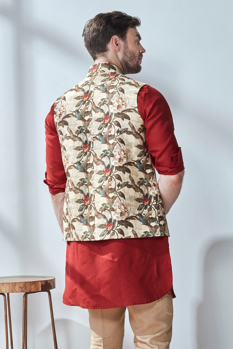 The Norio Nehru Jacket-Yellwithus.com