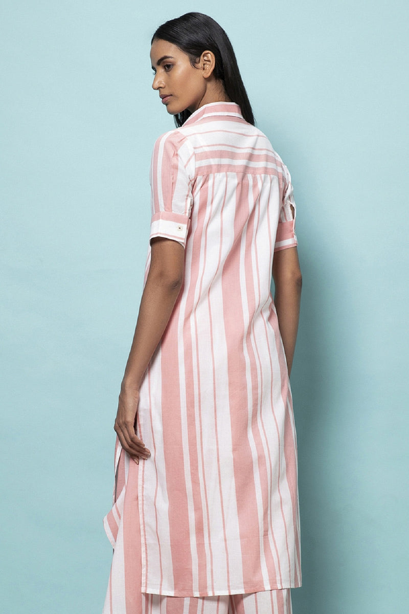 Deckchair Stripe Tunic-Yellwithus.com