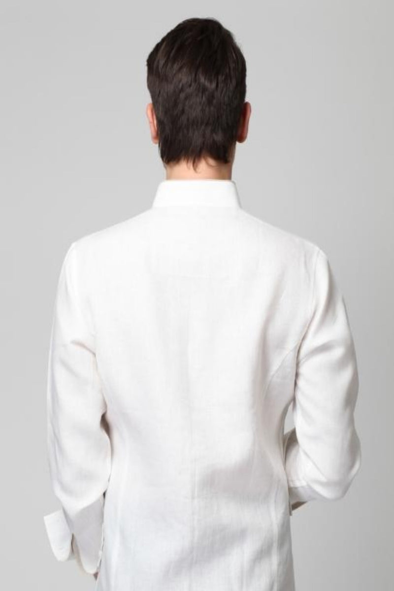 Royal Aristocratic Shirt - White | Yellwithus.com