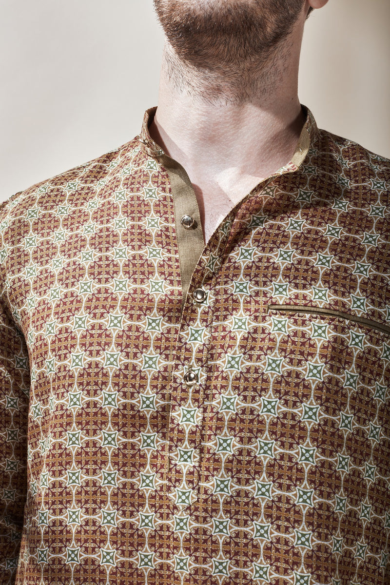 The Occhave Kurta-Yellwithus.com