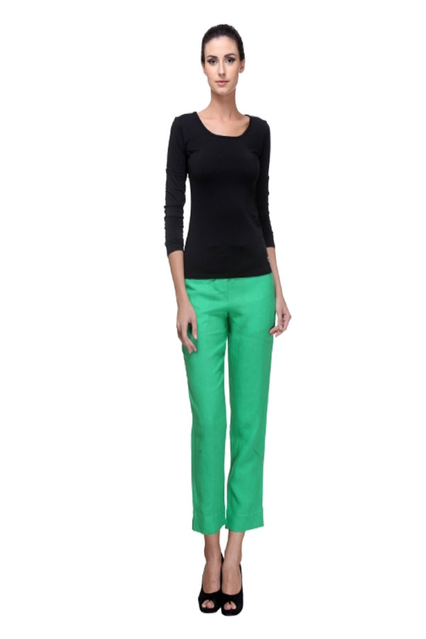 Lucid Drawstring Emerald Green Pants-Yellwithus.com