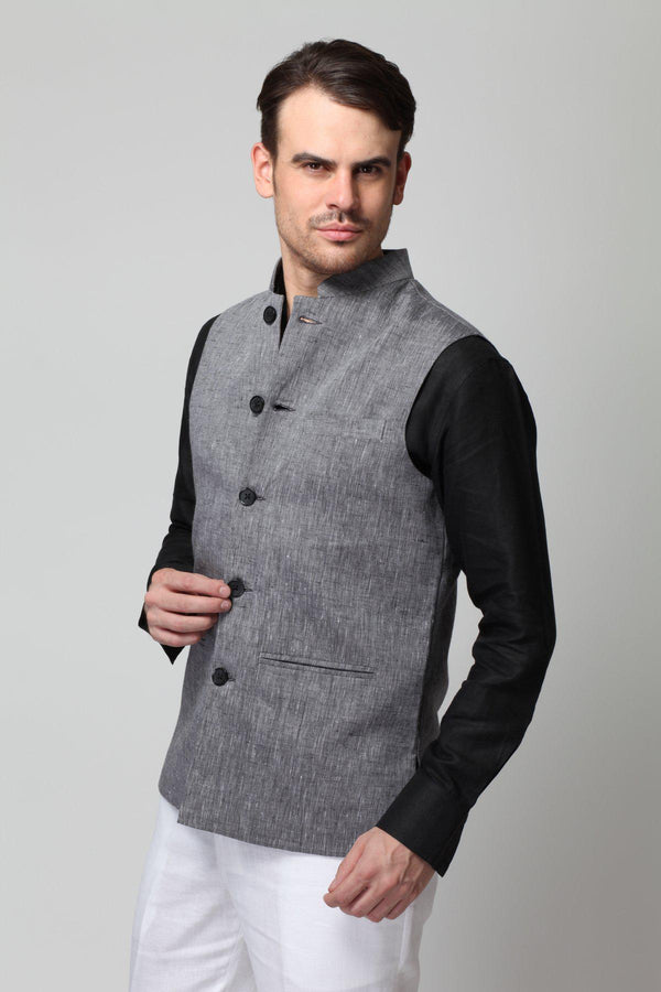 Regal Nehru Jacket-Yellwithus.com