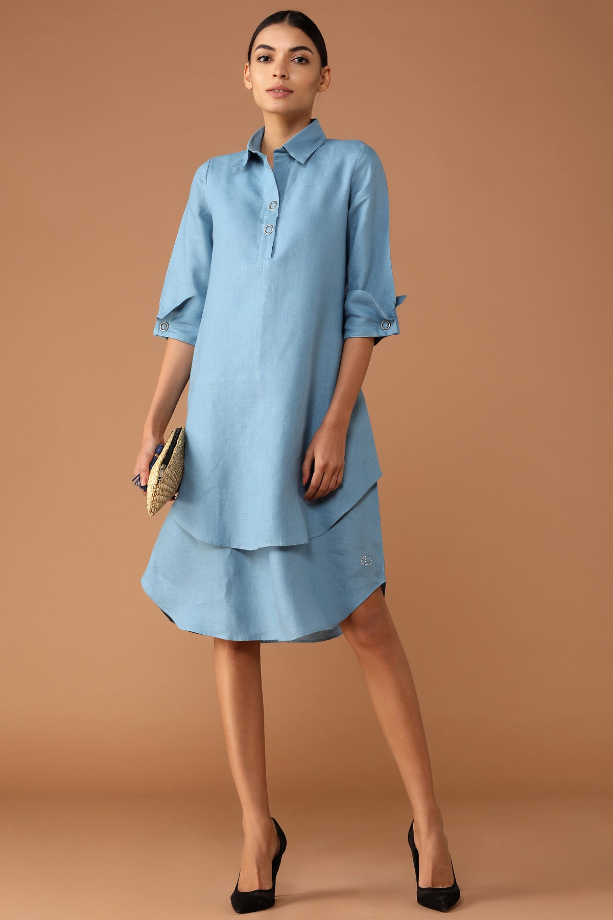 Splendid Double-Layer Dress