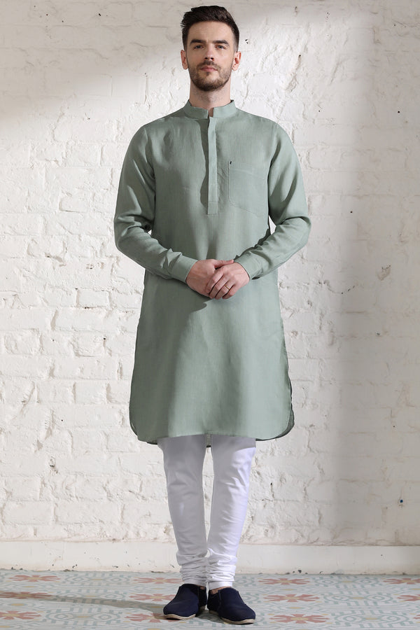 The Mint Leisure Kurta-Yellwithus.com