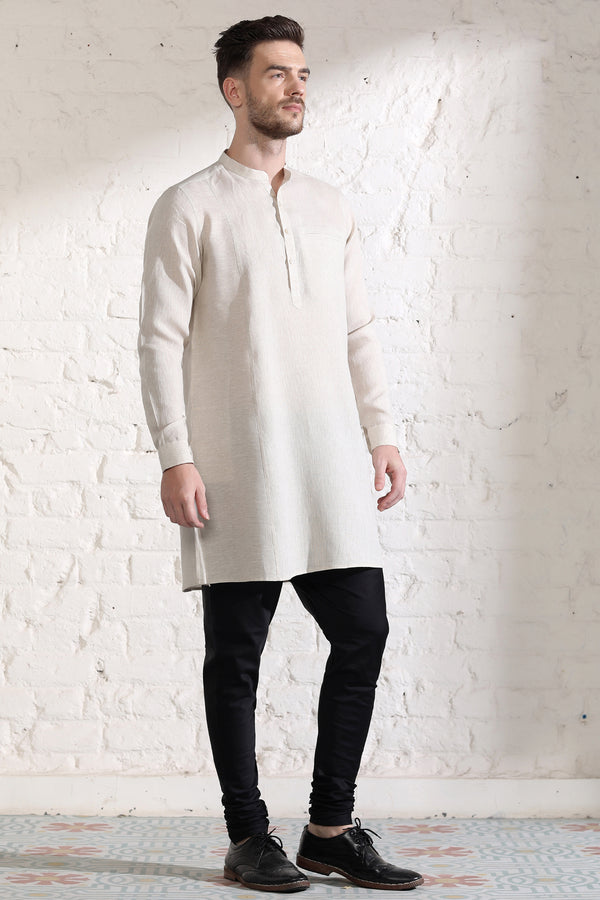 The Austere Allegory Kurta-Yellwithus.com