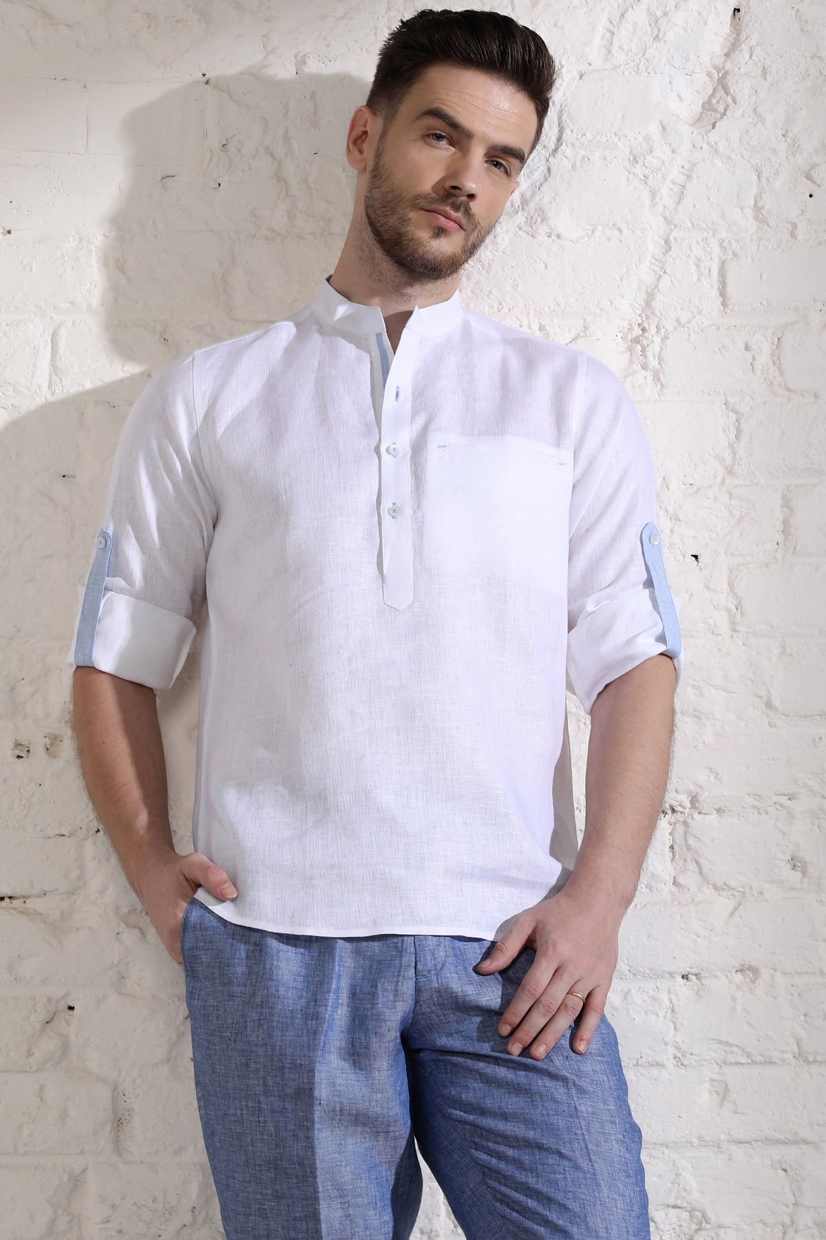 Shiny Short Kurta