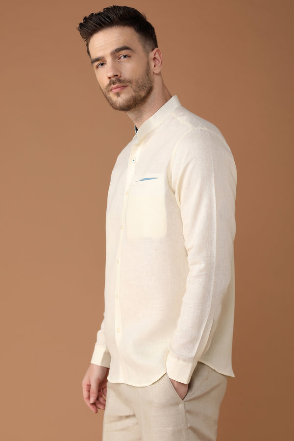 The Weekend White Shirt-Yellwithus.com