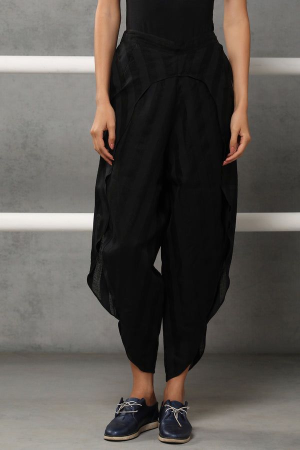 The Division Tulip Pants Black Stripe - Yellwithus.com