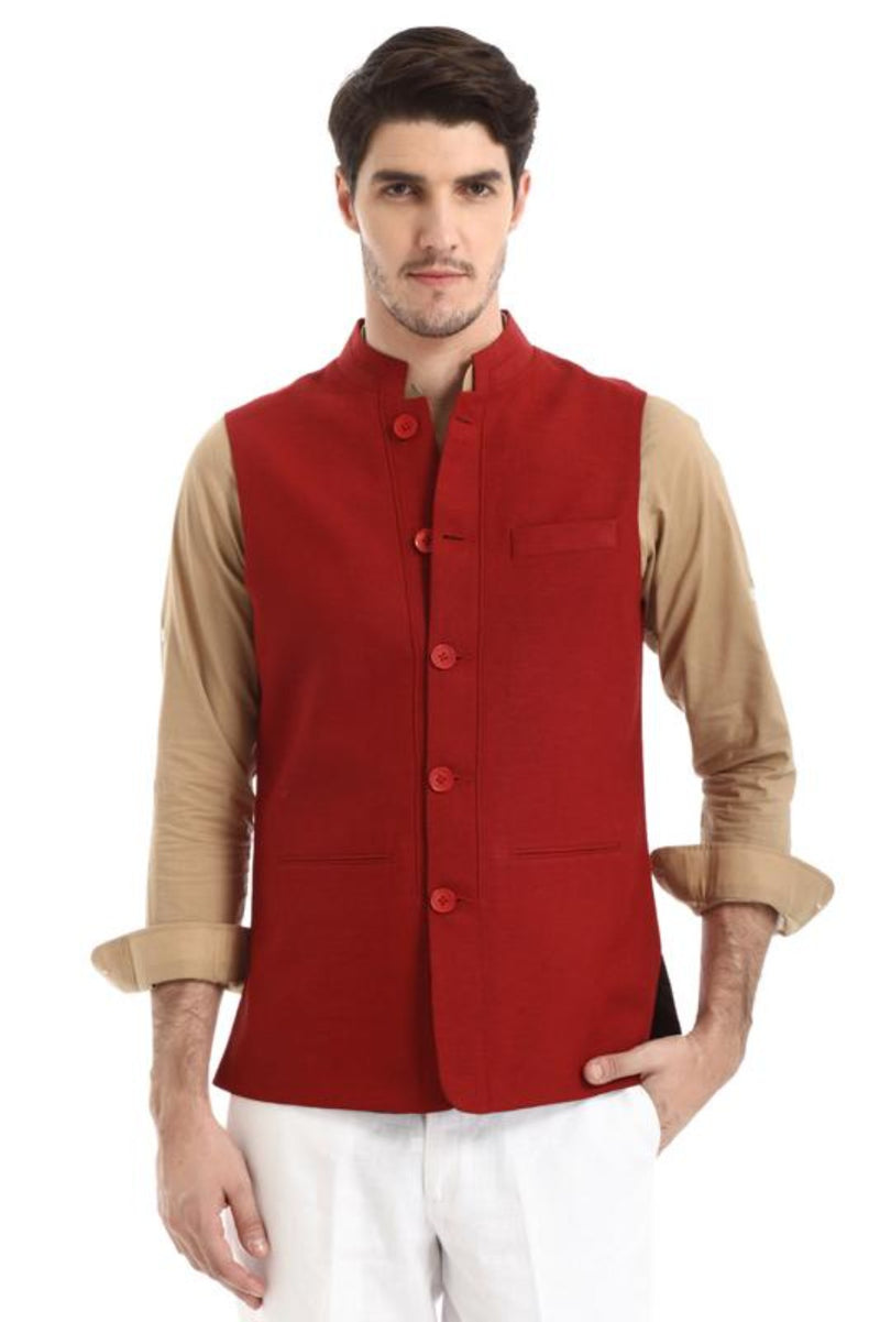 Highlander Nehru Jacket-Yellwithus.com