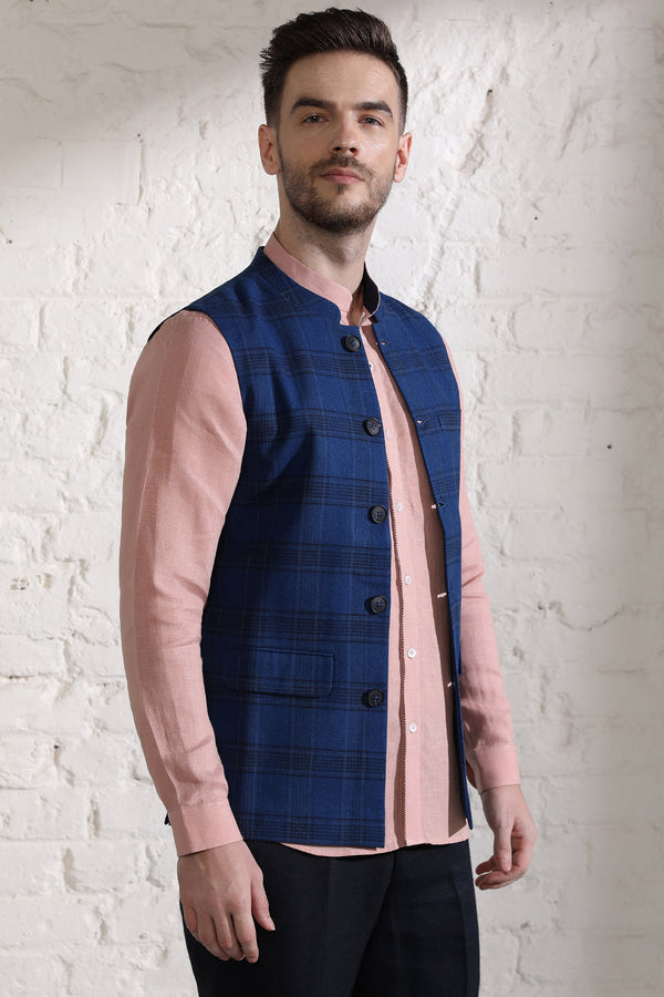 The Cadoc Nehru Jacket-Yellwithus.com