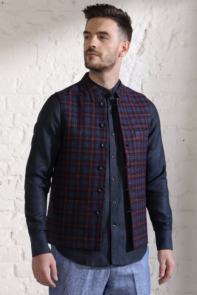 The Twilight Nehru Jacket-Yellwithus.com