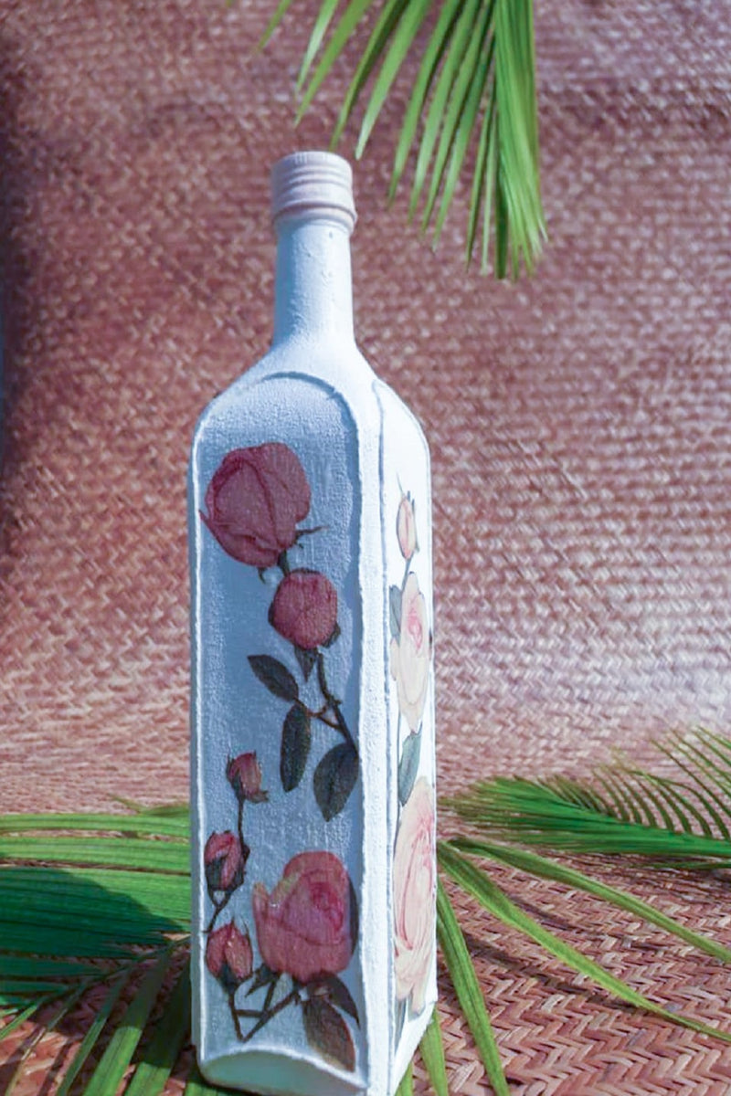 Vintage Square Bottle