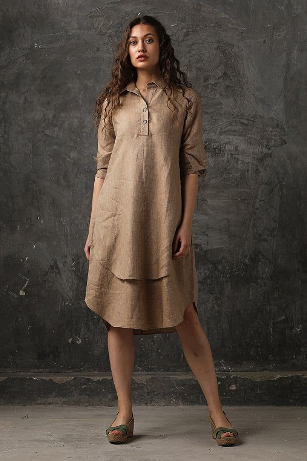 Splendid Double-Layer Dress-Yellwithus.com