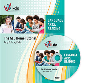 Language Arts, Reading GED Training Book and DVD