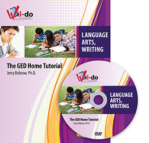 Language Arts, Writing GED Training Book and DVD