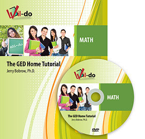 Math GED Training Book and DVD